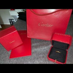 Cartier Love Ring (Wedding Band)